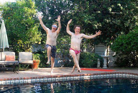 Will Ferrell e John C. Rilley in Fratellastri a 40 anni - foto Movieplayer.it