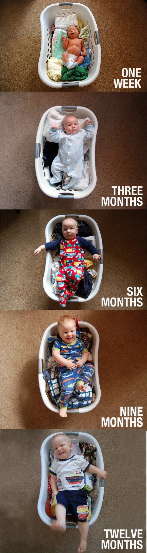Dalla nascita a un anno. Il fotoracconto