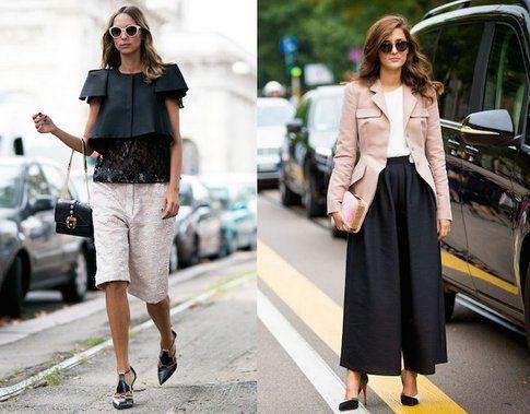 Candela Novembre e Eleonora Carisi indossano Culotte -fonte: Ellecanada.com