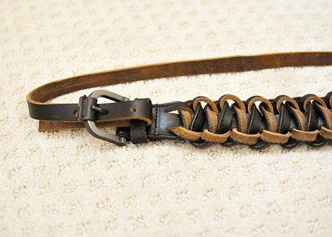 Come rinnovare una vecchia cintura