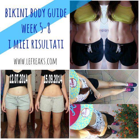 Federica Orlandi - I risultati del bikini body guide