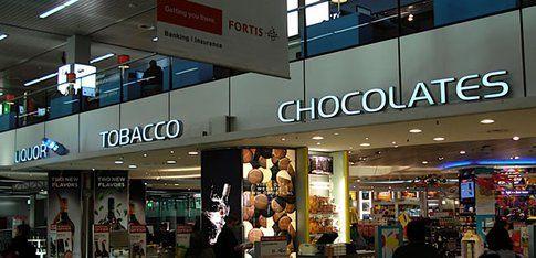 Duty free aeroporto di Amsterdam
