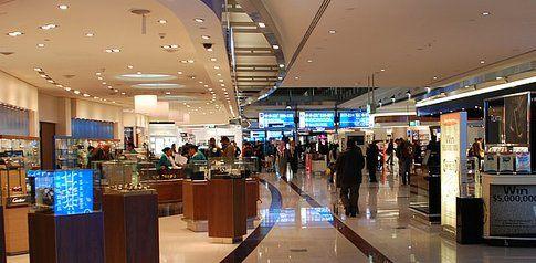 Duty free aeroporto di Dubai
