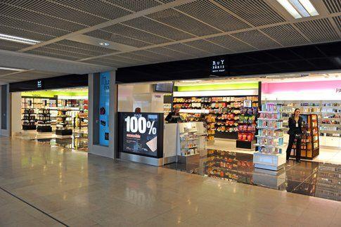 Duty free aeroporto di Parigi