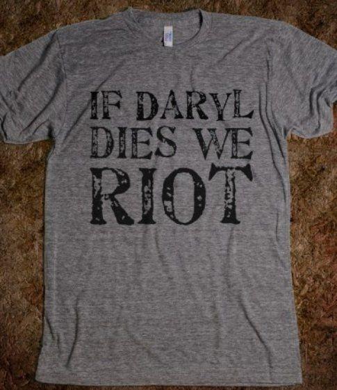 Daryl non deve morire - foto dai commenti a Facebook The Walking Dead