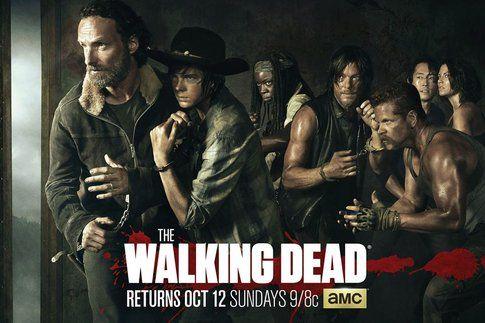La crew di The Walking Dead - foto Facebook ufficiale The Walking Dead