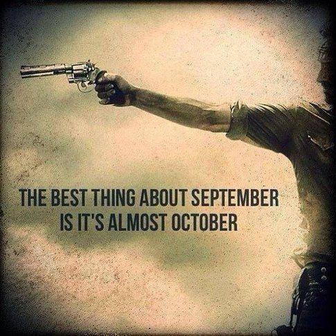 Foto dai commenti a Facebook The Walking Dead