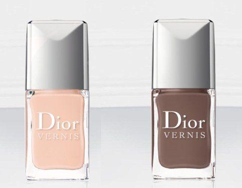 Smalti Nude proposti da Dior per l'autunno 2014