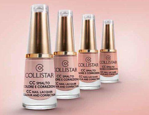 Smalti CC colore e correzione in toni nude di Collistar
