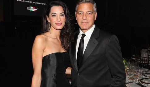 George Clooney e Amal Alamuddin sono marito e moglie