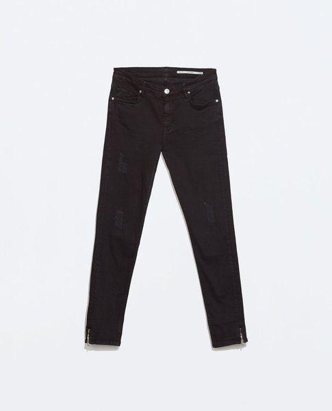 Pantaloni neri Skinny - Zara -