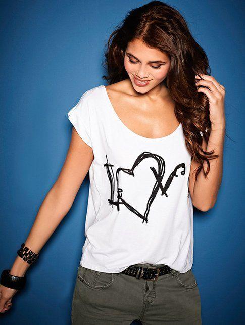 T-shirt Bianca - BonPrix -