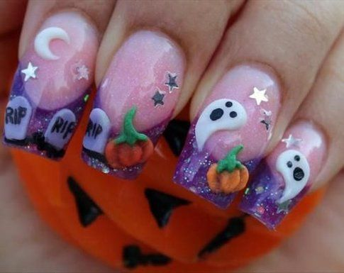 Fonte: Pinterest - Nail art gallery