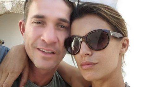 Elisabetta Canalis e Brian Perri