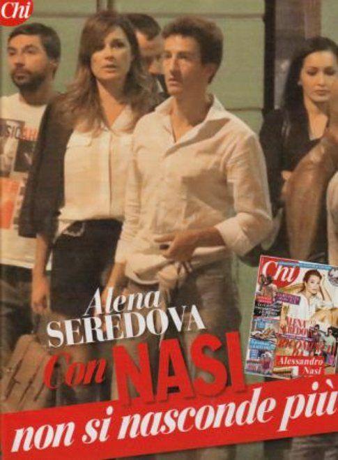 Alena Seredova e Alessandro Nasi