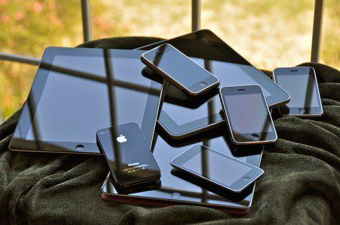 Una montagna di iPhone e iPad!