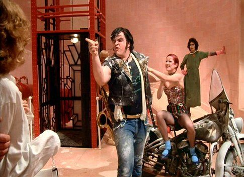 Meat loaf in Rocky Horror Show - foto rockymusic.org