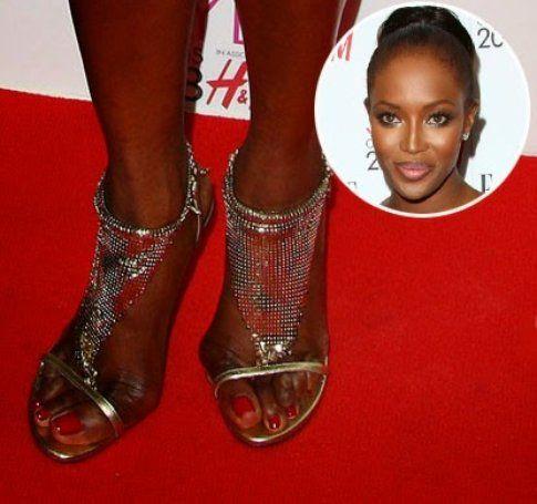 I piedi di Naomi Campbell