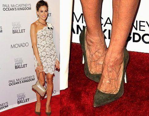 I piedi di Sarah Jessica Parker