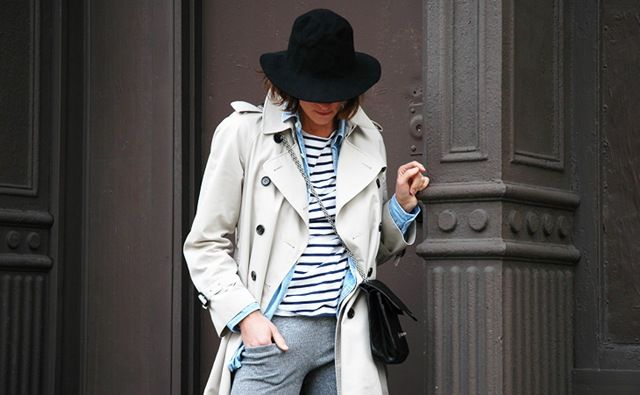Trench oversize, il must have dell'autunno