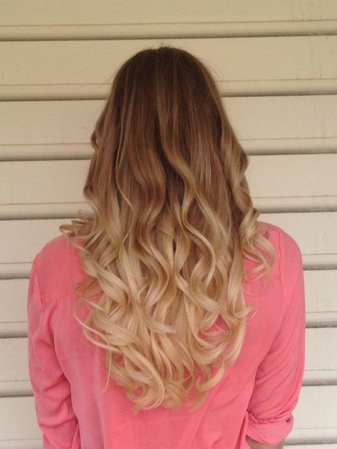 Ombre hair biondo