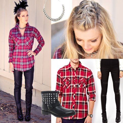 Easy Punk- Grunge Look per Halloween! - fonte : bloglovin.com