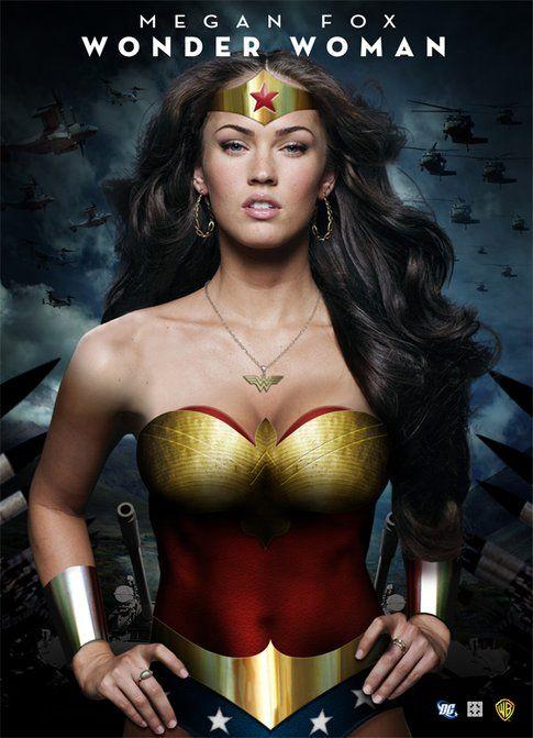 Megan Fox in versione Wonder Woman