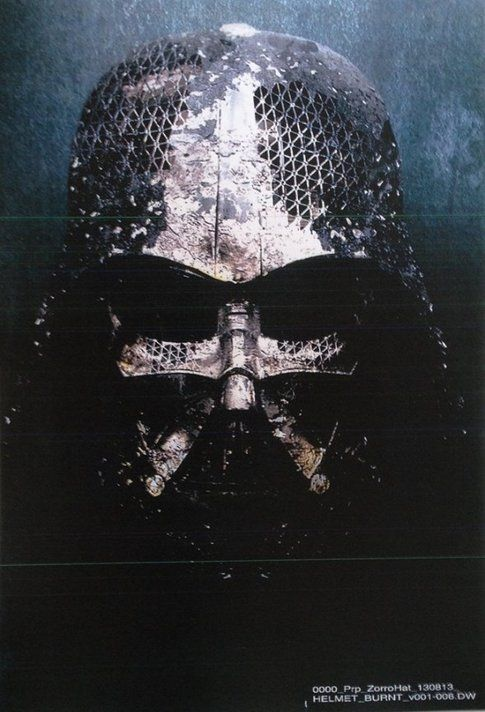 Presentato l'elmo di Darth Vader per Star Wars Episodio VII