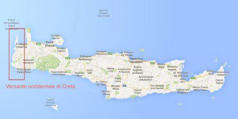 Versante occidentale di Creta