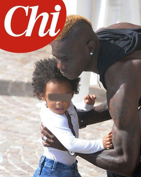 Mario Balotelli e la figlia Pia insieme per il weekend