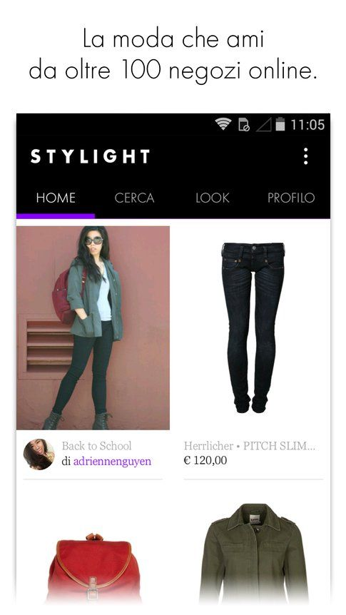 STYLIGHT app per iOS e Android