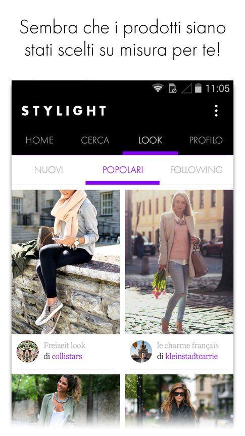 STYLIGHT app per iOS e Android