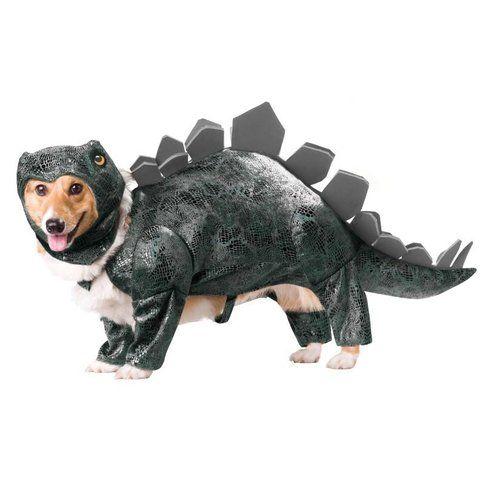 Costume da stegosauro per cani, prezzo $44.99