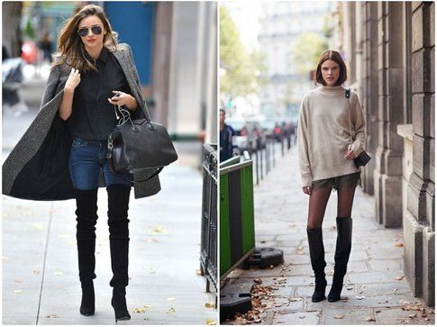 Cuissardes e Skinny Jeans - Cuissardes e Shorts