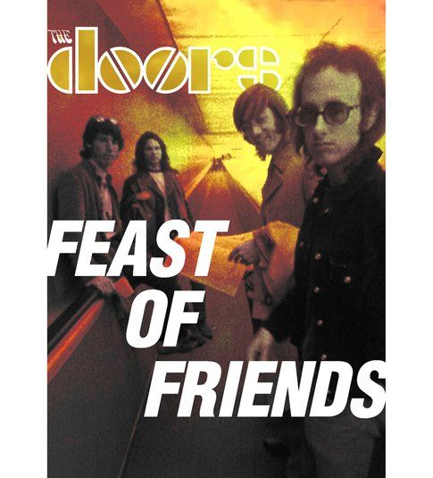 "Copertina ""Feast of Friends"" - immagine da pagina facebook The Doors"