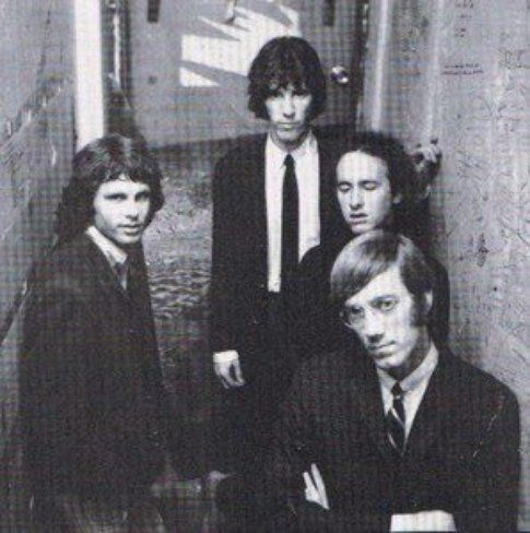 The Doors - foto d'archivio pagina facebook The Doors