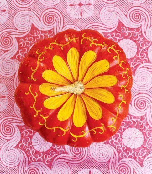 Zucca fiorita