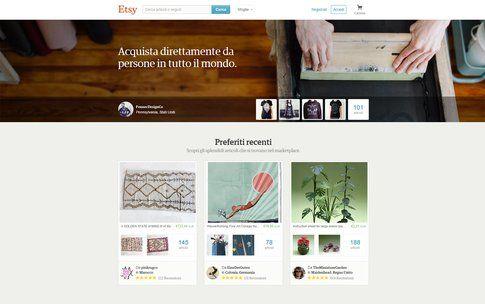 Etsy è uno dei migliori siti per articoli vintage e fatti a mano