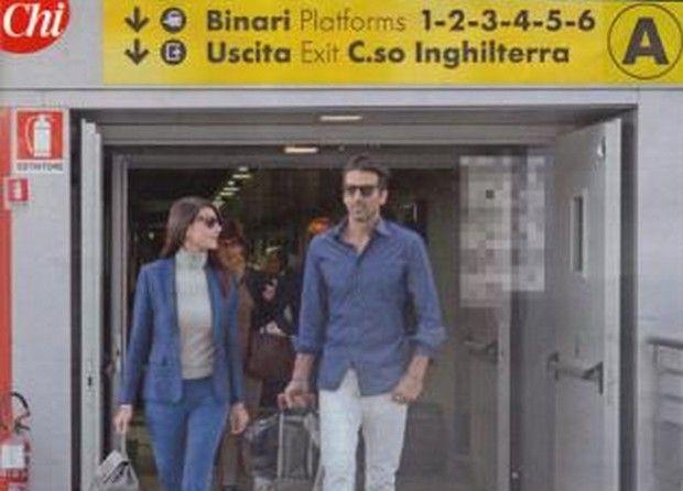 Gigi Buffon e Ilaria D'Amico: un amore pendolare
