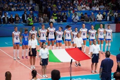 L'inno Italiano - FIVBWomensWCH