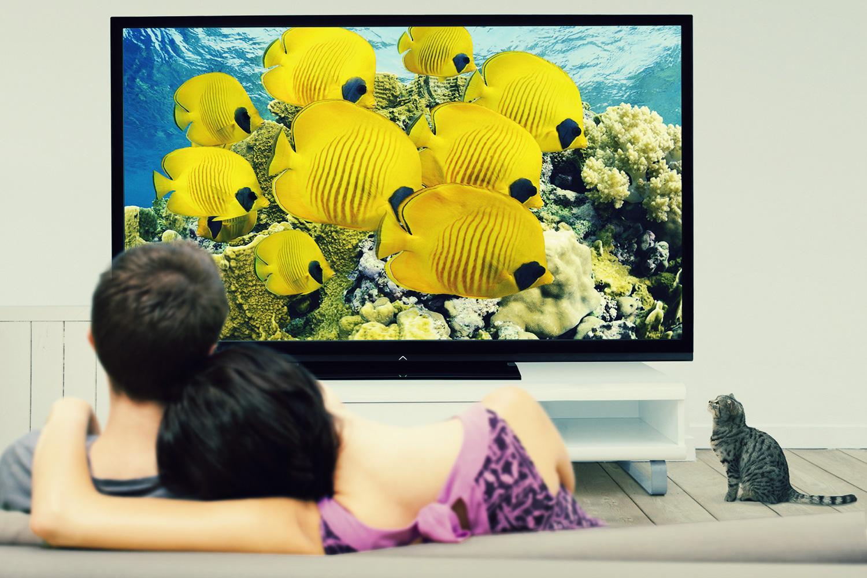 Qual è la distanza migliore per vedere la televisione?