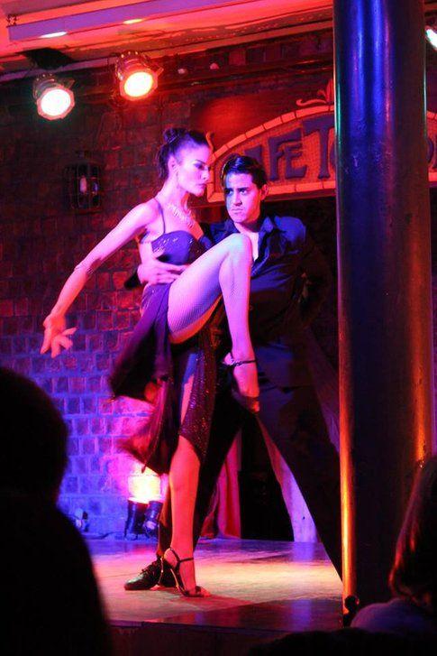 Show di Tango al Café Tortoni