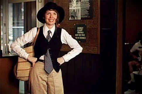 """Diane Keaton protagonista di """"Io e Annie"""" icona di tutte le radical chic"""