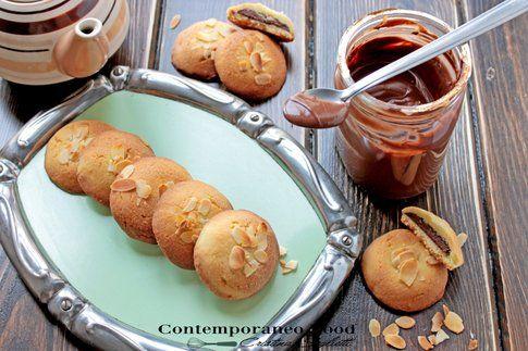 Biscotti di frolla alla Nutella