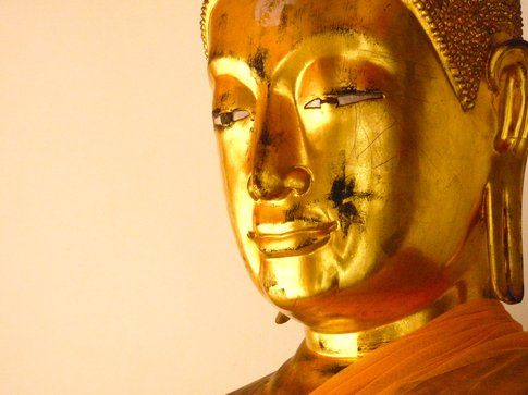 Il volto del Buddha - foto di Elisa Chisana Hoshi
