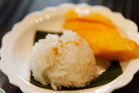 Mango Sticky Rice by Dennis Wong