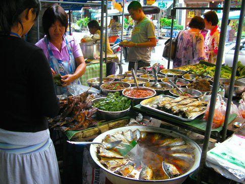 Street food a Bangkok - foto di Elisa Chisana Hoshi