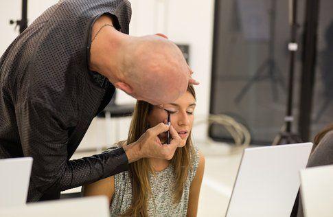 La nostra beauty Blogger Carlotta di Styleandtrouble.com durante l'evento di P&G e Max Factor