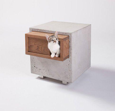 Standard Architecture Design. Cat Cube ©Grey Crawford