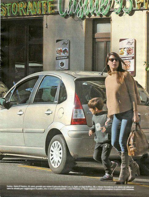 Buffon e la D'Amico: insieme a Torino con i figli di Gigi